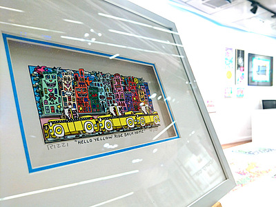 Hamburg - James Rizzi Pop Art Galerie -