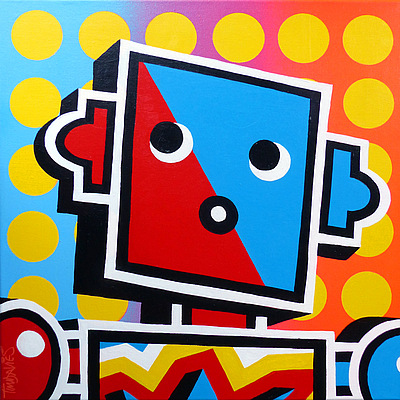 Tim Davies - Pop Art Robot